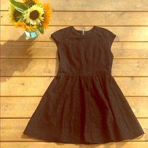 Dolce Vita Black Lace Cap Sleeve Dress Sz M